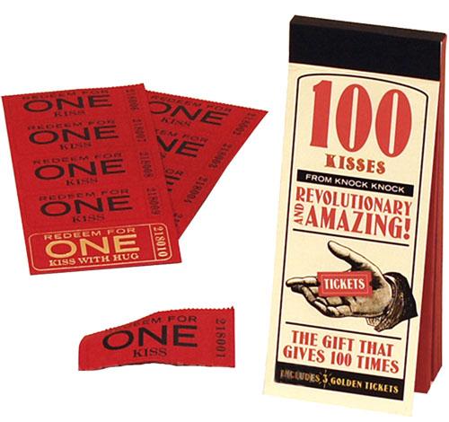 100 Kisses Tickets