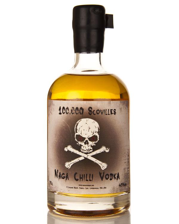 100,000 Scovilles Naga Chilli Vodka