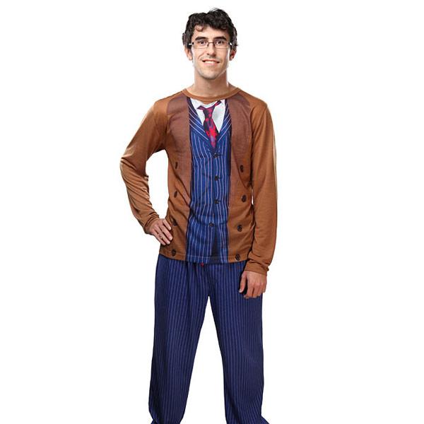 10th Doctor Costume Pajama Set