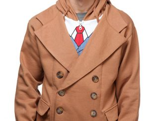 Doctor Who 10th Doctor Zip-Up Hoodie