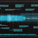 10th Doctors Sonic Screwdriver Blueprint Poster