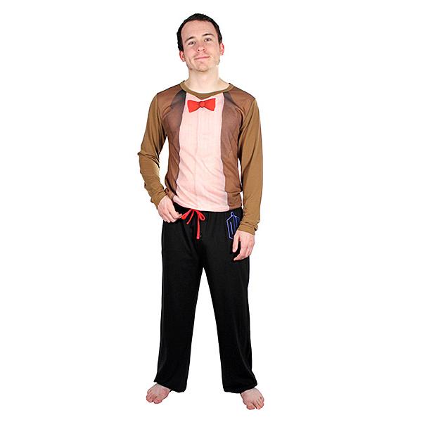 11th Doctor Costume Pajama Set