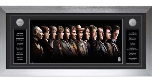 Doctor Who 12 Doctors Deluxe Framed Print