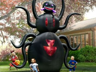 12-Foot Inflatable Animated Spider