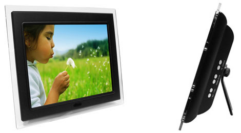 12-Inch Digital Picture Frame with MP3 Player