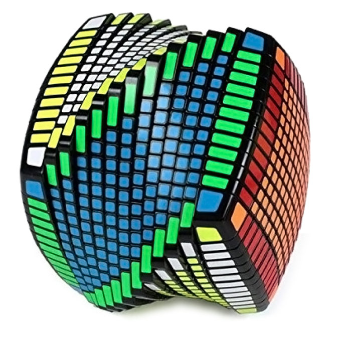 13 Sided Speed Cube Puzzle