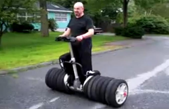14-Wheel Segway