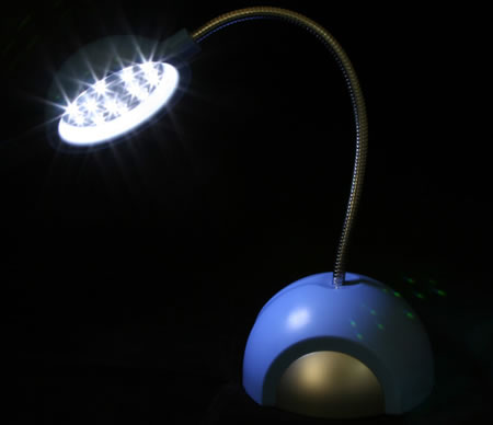 15-LED USB Desk Lamp