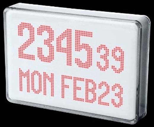 LED Clock by Peter van der Jagt
