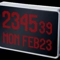LED Clock by Peter van der Jagt