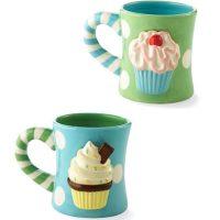 16 oz Ceramic Cupcake Mug