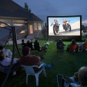 16-Foot Inflatable Outdoor Screen