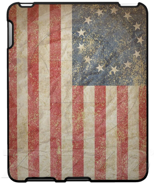 1776 US Flag iPad Case