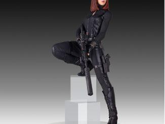 18 Inch Black Widow Statue