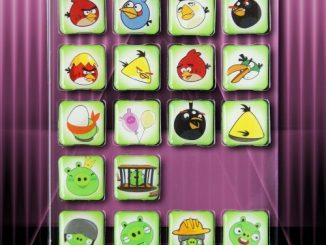 18 Piece Angry Birds Icon Magnets Fridge Set