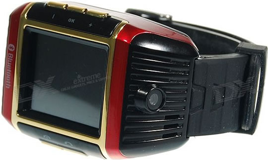 18K Gold Plated Cell Phone Watch