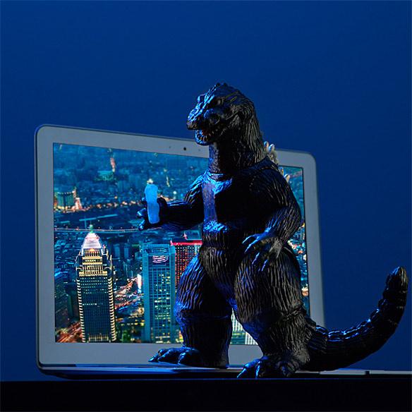 1962 Godzilla Sofubi Figure