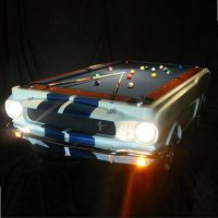 Shelby Mustang Pool Table