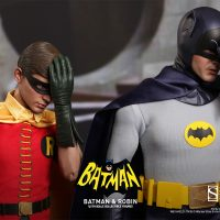 1966 Batman and Robin Sixth-Scale Figures Face-Palm