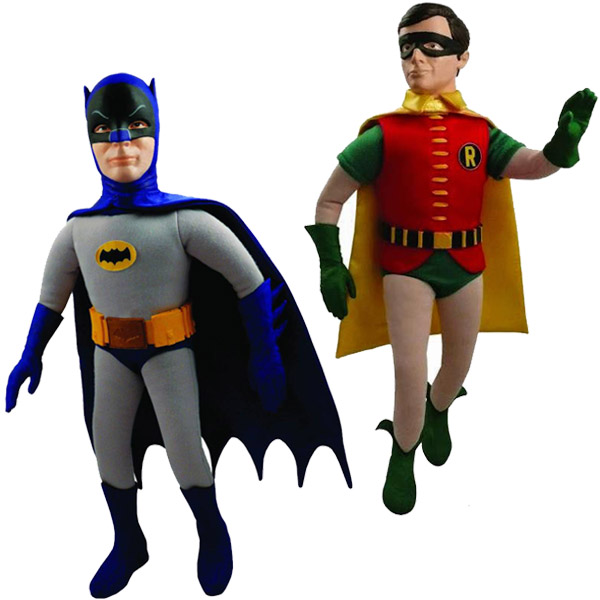 1966 Batman and Robin Talking Figures