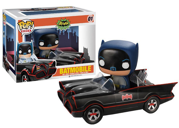 1966 TV Series Batmobile Pop Vinyl Vehicle
