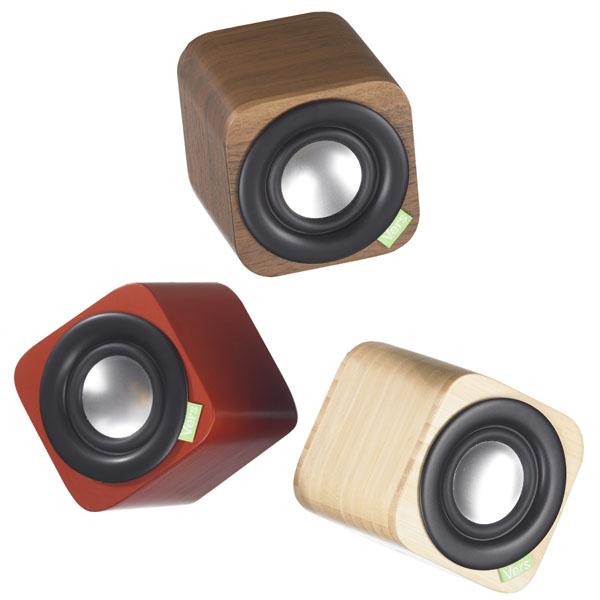 1q Solid Wood Bluetooth Speaker