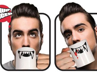 2 Faced Vampire Coffee Mug