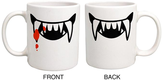 2 Faced Vampire Mugs