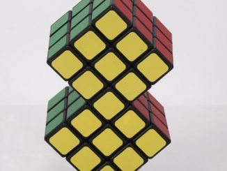 2 in 1 Conjoined Rubik's Magic Cube Puzzle Toy Gift