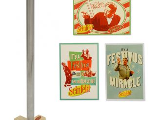 20 Festivus Pole with Greeting Cards