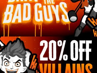 20% Off Bad Guys Merchandise