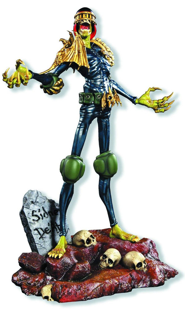 2000 AD Judge Death Limited Edition Statue