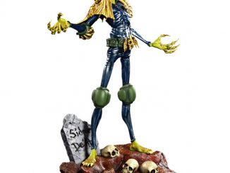 2000 AD Judge Death Statue