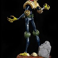 2000 AD Judge Death Statue Back