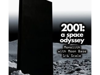 2001 A Space Odyssey Monolith and Moon Base 1 6 Scale Action Figure Accessories