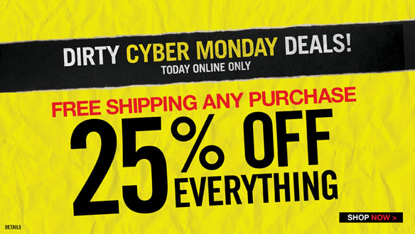 2012 Hot Topic Cyber Monday Sale