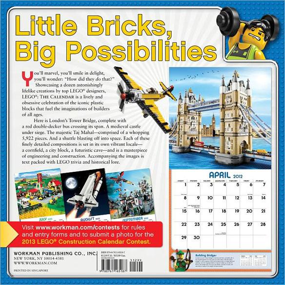 2012 LEGO Calendar