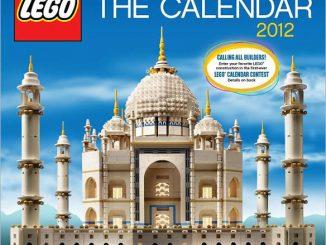 2012 LEGO Wall Calendar