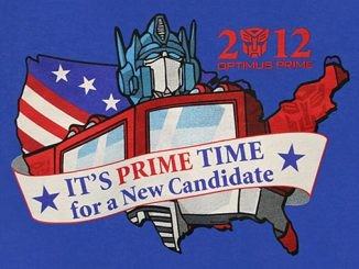 2012 Optimus Prime Candidate T-Shirt