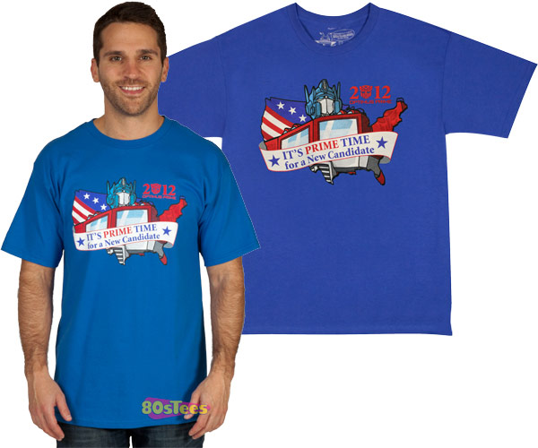 2012 Optimus Prime for President T-Shirt