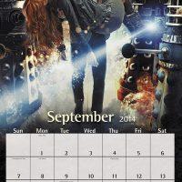 2014 Dcotor Who Calendar