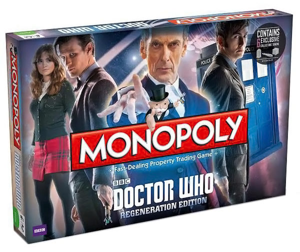 2014 Doctor Who Monopoly