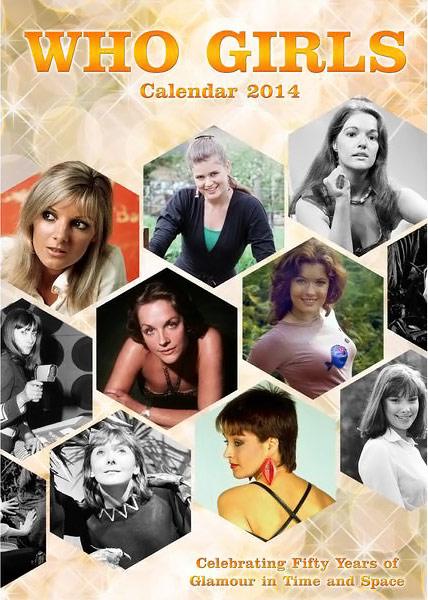 2014 Doctor Who Who Girls Calendar