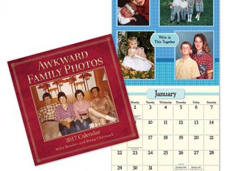 2017 Awkward Family Photos Calendar