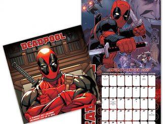 2017 Deadpool Wall Calendar