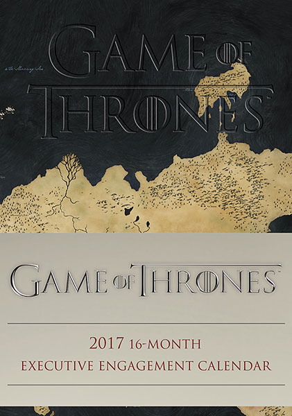 2017 Game of Thrones Executive Engagement Calendar