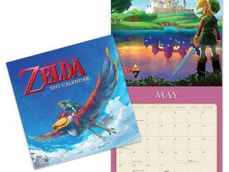 2017 Legend of Zelda Wall Calendar