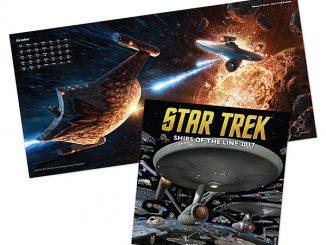 2017 Star Trek Ships of the Line Calendar