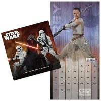 2017 Star Wars The Force Awakens Wall Calendar