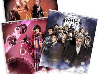 2018 Doctor Who Poster Calendar
